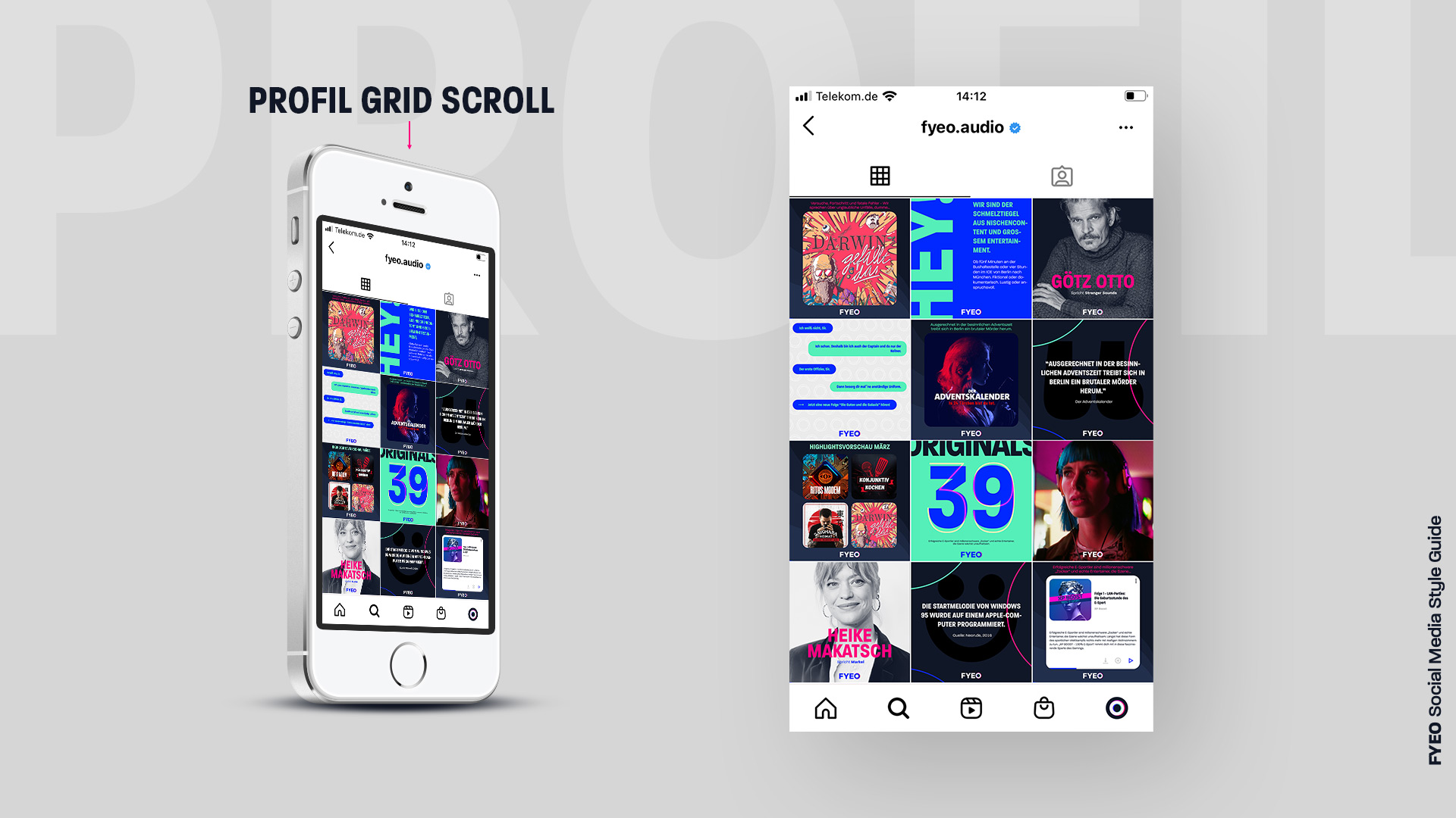 Studio-Christian-Dueckminor-FYEO-Social-Media-Style-Guide-Uebersicht