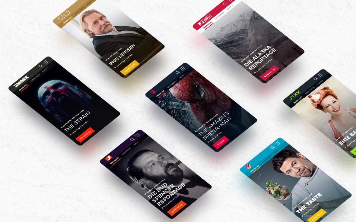 Studio-Christian-Dueckminor-ProSiebenSat1-Senderseiten-Web-Design-Teaser